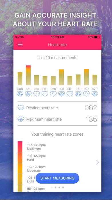 心率监测器:EKG脉搏追踪器