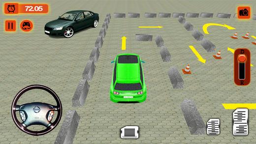 现代速度停车城市