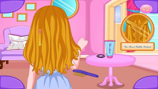 公主的发型