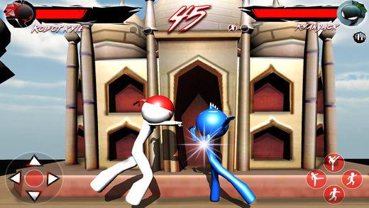 Stickman战士功夫2D:战斗游戏