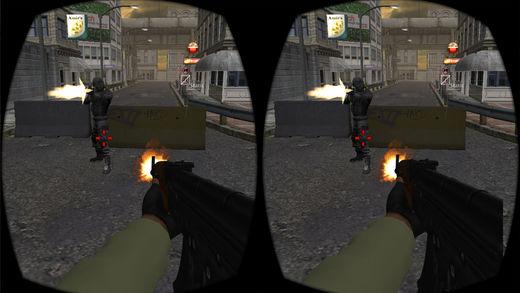 VR 市 别动队 射击
