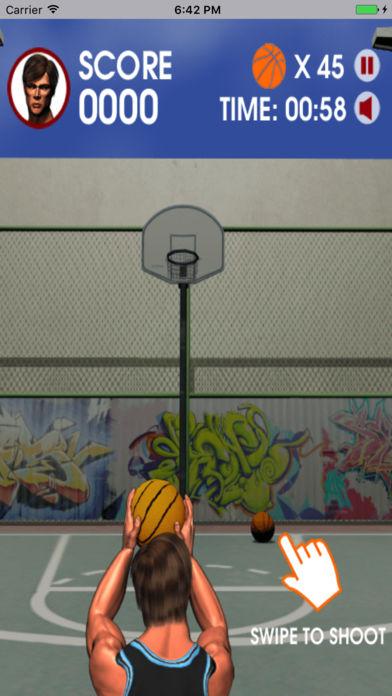 街头篮球热-好玩的模拟灌篮小游戏