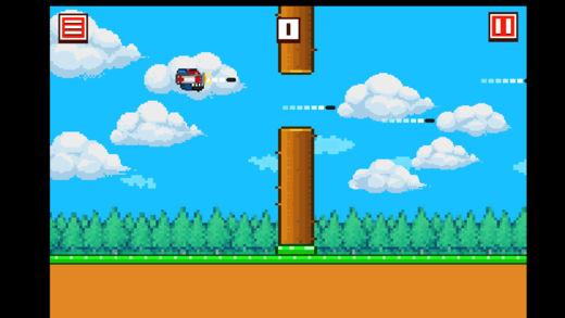 飞扬的小火箭-好玩的敏捷小游戏