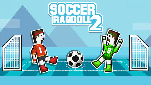足球布娃娃2个玩家物理游戏