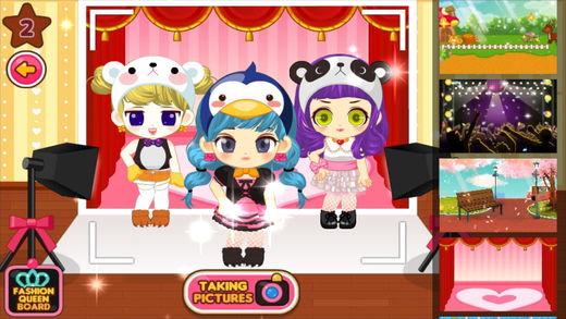 时尚公主穿衣派对-女生换装搭配小游戏