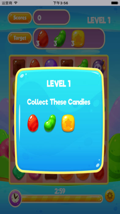 爆炸糖果对对碰
