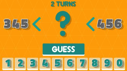 数字猜一猜-趣味益智小游戏