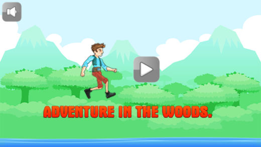 冒险的男子-经典动作小游戏