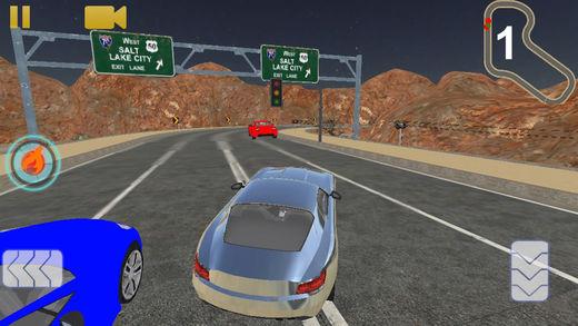 市 高速公路 汽车 赛车