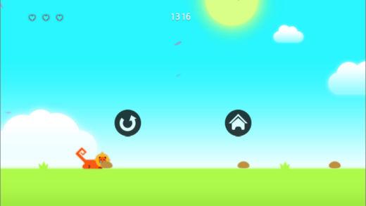 无尽的追逐-一个风格清新的跑酷游戏