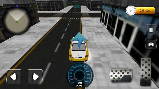 疯狂城市出租车驾驶