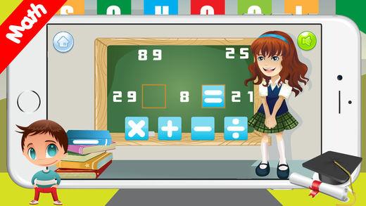 3年级的数学游戏:四则运算 : Basic Math