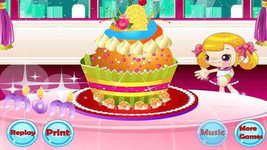 纸杯蛋糕妈妈