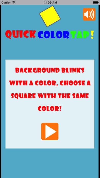 颜色快速点击-考验快速判断能力的小游戏