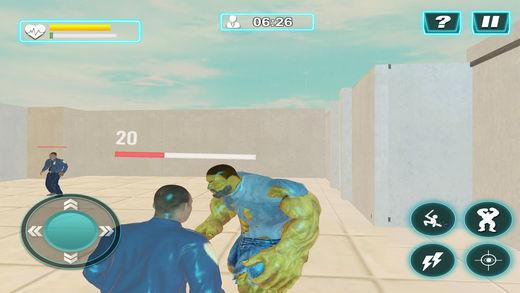 怪兽超级英雄未来监狱越狱刑事市 战斗