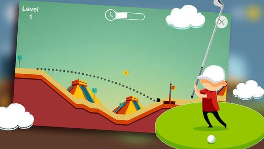 街机球球:模拟高尔夫体育游戏