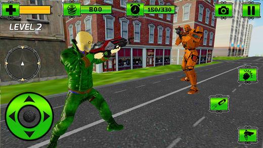 鬼 VS 机器人 战斗 游戏