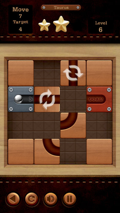 小球滚动路径移动方块积木