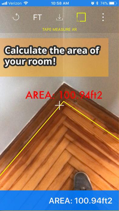 虚拟卷尺测量:标尺应用程序: Tape Measure AR