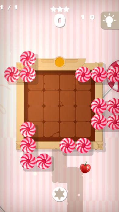 块拼图甜蜜的糖果