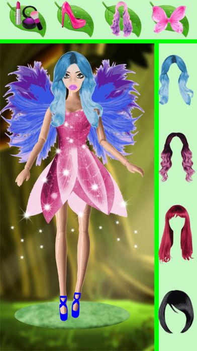 魔术连衣裙:改变脸,女孩游戏