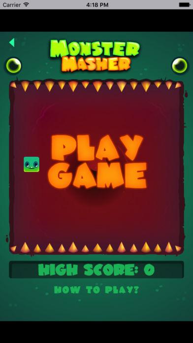 绿怪物狂吃-全民都在玩的冒险小游戏