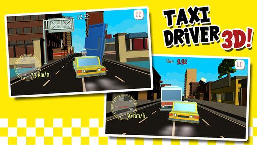 出租车司机3D汽车模拟器