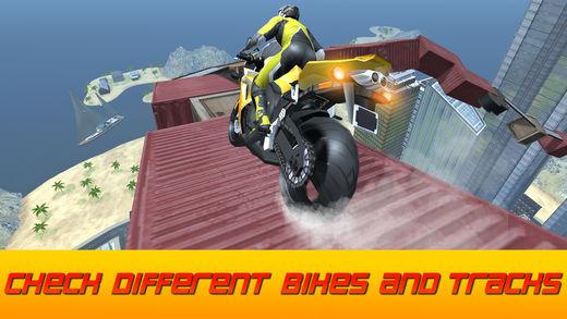 不可能的摩托车天空比赛