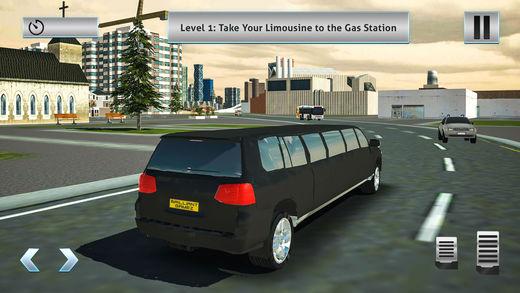 巡洋舰豪华轿车出租车模拟器