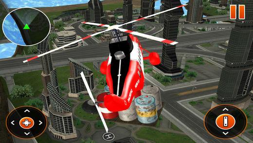 真正的城市 加油站 卡车3D