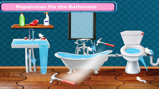 水管工修理房屋修复