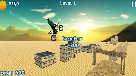 试驾Xtreme摩托车沙漠