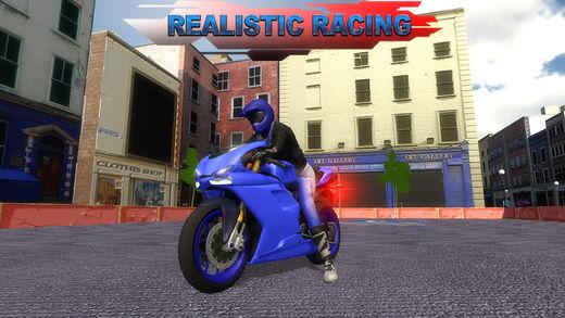 摩托车停放和特技3D