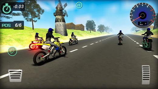 高速公路 自行车 特技 赛车