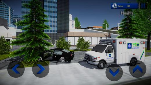 市 救护车 拯救 游戏
