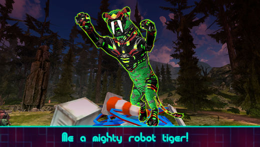 老虎机器人生存模拟器