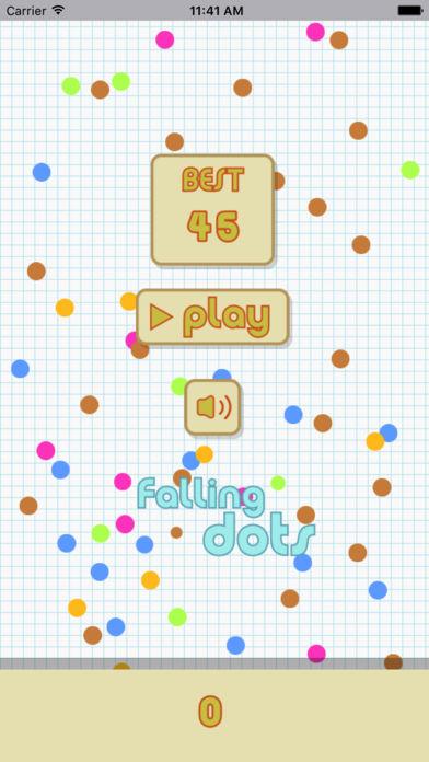 下落的圆点-有趣的敏捷小游戏
