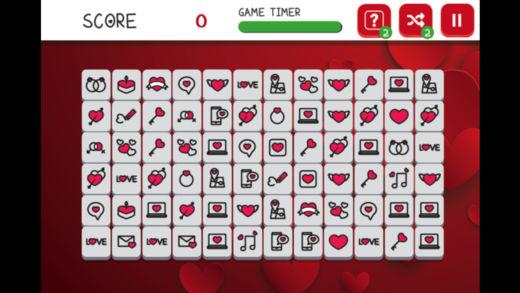 情人节麻将连连乐-益智类消除小游戏