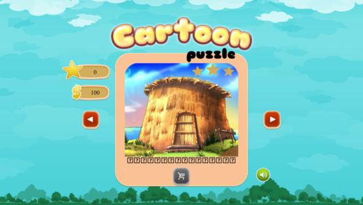 卡通世界拼图-超具挑战的益智小游戏
