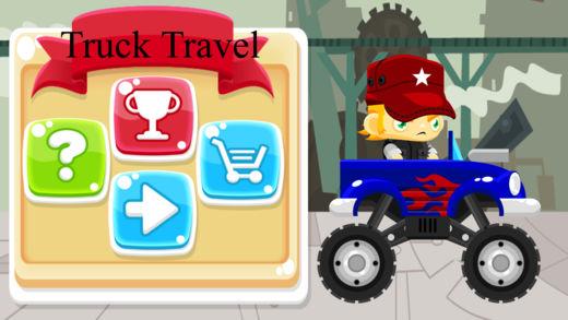驾驶卡车的旅程-超好玩的体育小游戏
