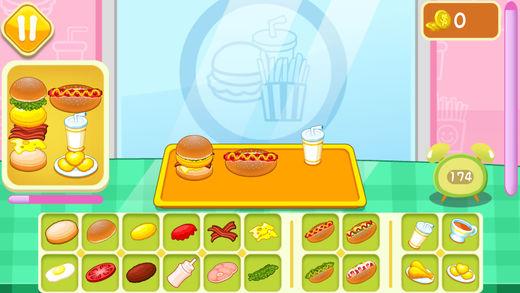 模拟汉堡店:餐厅经营类做饭小游戏