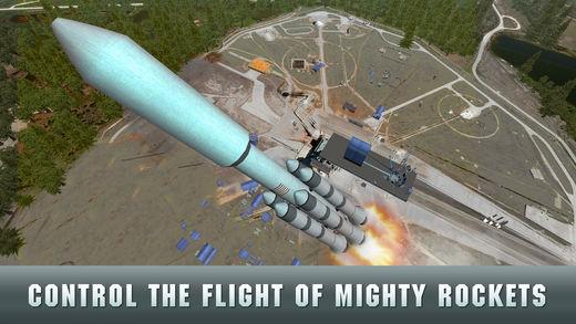 美国空军火箭飞行