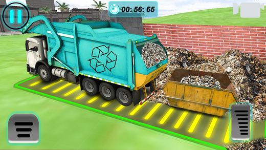 城市的 垃圾 卡车 模拟器