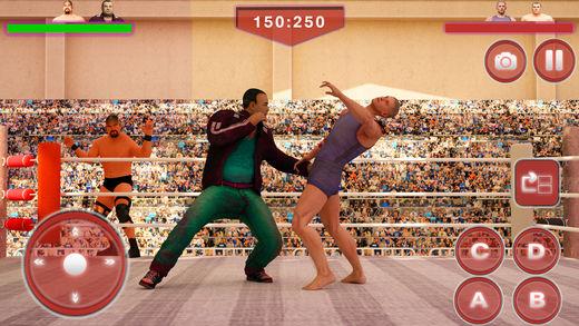 世界 摔跤手 冠军 斗争