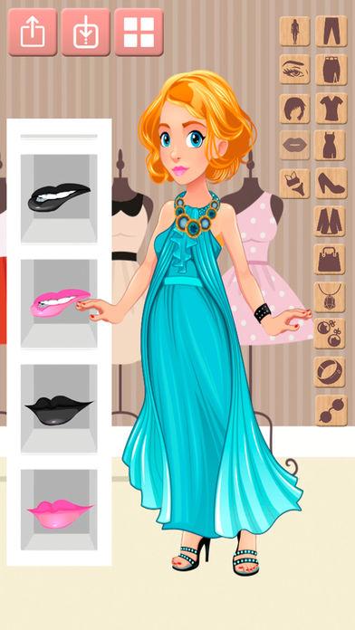 打扮娃娃游戏的时尚设计