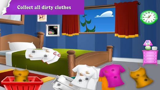 家洗衣服游戏