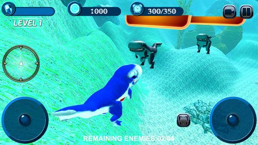 饥饿 蓝色 鲸 模拟器