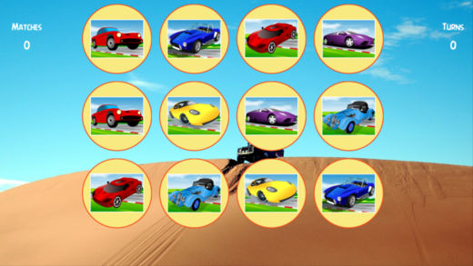 汽车模拟器配对游戏