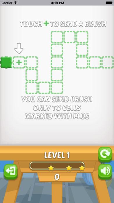 画笔难题-趣味的益智小游戏