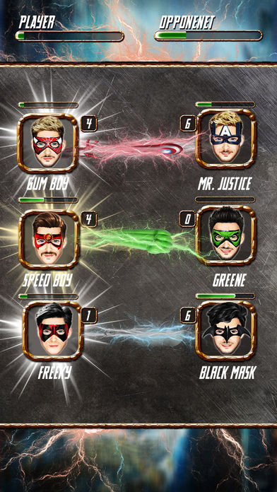 超级英雄3匹配游戏:英雄的最后战争
